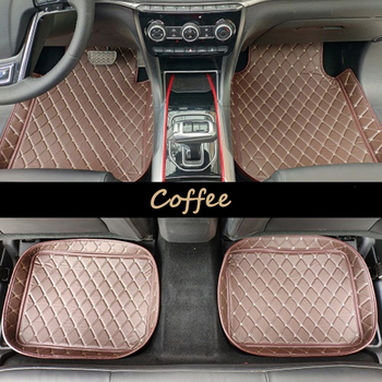 Universal Car Floor Mat RHD For all Jeep Grand Cherokee Renegade Patriot Compass Liberty Leather Auto Car Foot mat  Car Styling