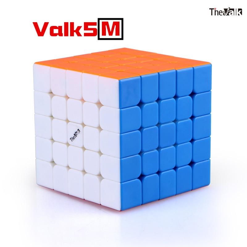 Qiyi Die Valk 5 M 5x5x5 Magnetische Magic Speed Cube Valk5 M Professionelle Stickerless Magneten Puzzle cube Bildung Spielzeug für kind-in Zauberwürfel aus Spielzeug und Hobbys bei  Gruppe 1