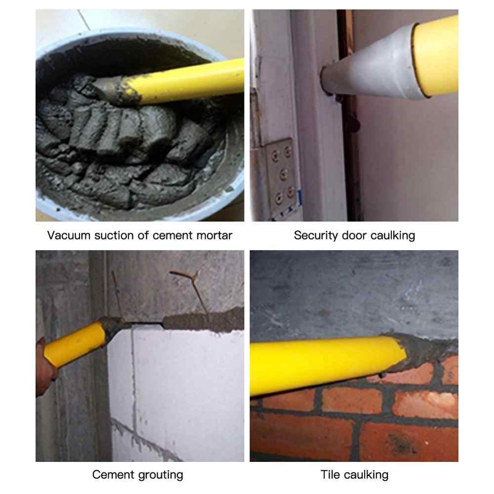 Kartuschenpistole Zement Kalk Pumpe Verfugen Mörtel Sprayer Applikator Mörtel Füllung Werkzeuge Mit 4 Düsen