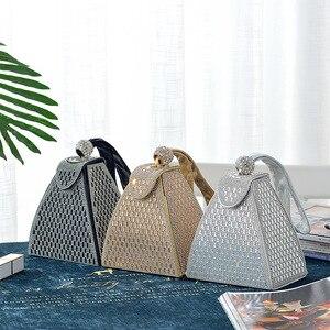 Image 2 - SEKUSA نساء جديد وصول مساء حقائب الماس موضة حقائب السيدات حقائب حفلات مع كريستال رائع محفظة