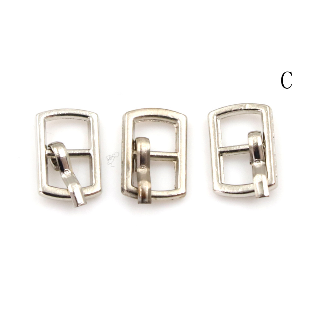 3/10PCS 4.5mm Mini Buckle DIY Patchwork Buckle For Dolls Clothing Adjustable Accessories Handmade Sewing 16