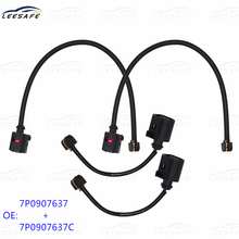 2 pairs Front + Rear Brake Pad Sensor 7P0907637 7P0907637C 95861236550 for VW Touareg 7P5 7P6 PORSCHE Cayenne 92A Panamera 970
