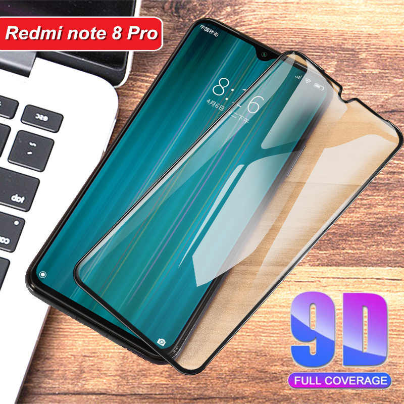 9D Tempered Glass For Xiaomi redmi Note 8 Pro Full cover for note8 Pro smartphone Screen Protector 9H Toughened film 2019