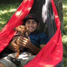 Hiking Camping Hammock Portable Nylon Safety Parachute Hanging Chair Swing Outdoor Double Person Hunting Hammock Rede De Camping swing chair rede camping hammock hammock swings