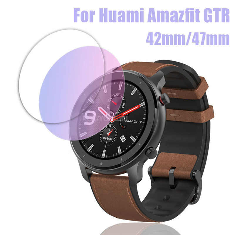 42/47mm Sports Eye Protection Smart Watch Tempered Glass Film for AMAZFIT GTR 9H 2.5D Screen Protector Film Smart Accessories