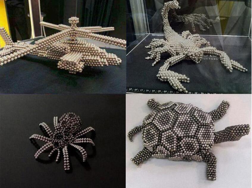 216pcs / Set 3mm Magic Magnet Magnetic Blocks Balls Neo Sphere Cube Beads Construction Puzzle Toys