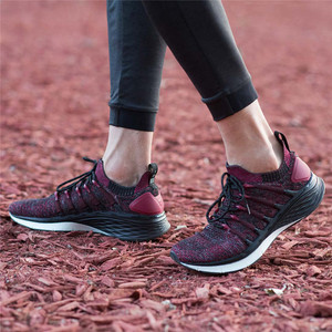 Image 5 - New Arrived Xiaomi Mijia Sneakers 3 Mens Outdoor Sports Uni moulding 3D Fishbone Lock System Knitting Upper Men Running Shoes