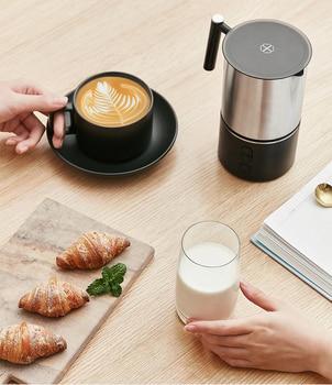 Xiaomi Scishare Electric Milk Foamer Bubble Coffee DIY Machine Latte Art Creamer Maker Warm Milk Cappuccino Frother Pitcher 220V 4