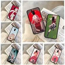 Anime Sakura Haruno casos de teléfono caso de Xiaomi para Redmi 4X 5 6 Plus 6A 7 7A 8 8A 9 Nota 4 8 T 9 Por