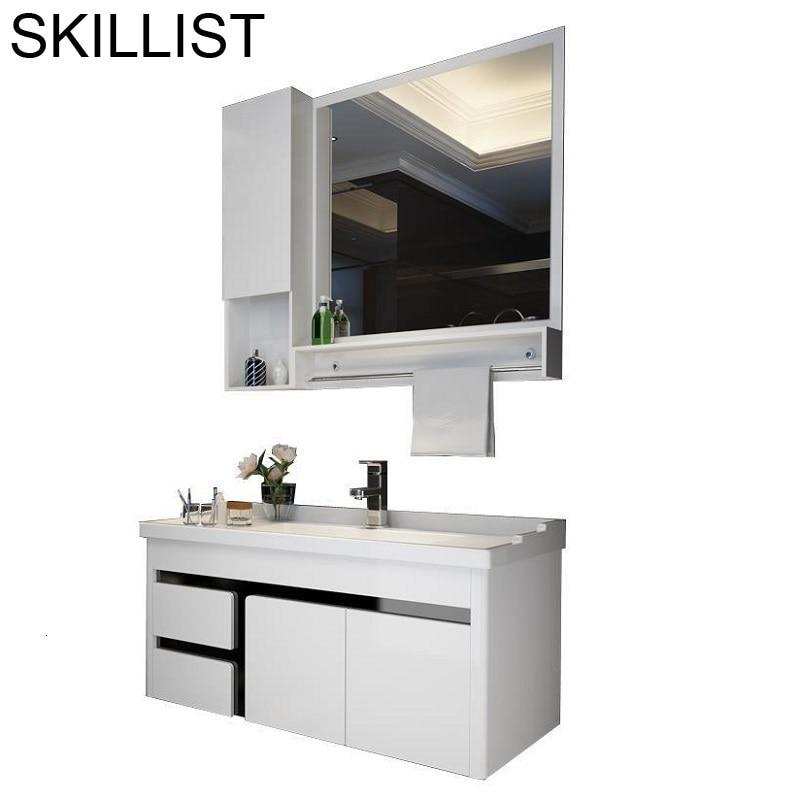 Shelf Banyo Dolabi Schrank Szafka Meubel Table Badkamer Banheiro Meuble Salle De Bain Vanity Mobile Bagno Bathroom Cabinet