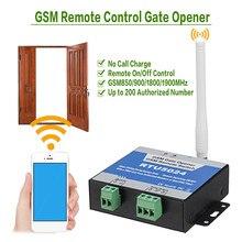 RTU5024 Gsm Gate Opener Relais Schakelaar Draadloze Afstandsbediening Deur Access Deuropener Gratis Call 850/900/1800/1900Mhz