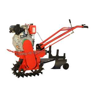 Seeder Tiller Cultivator-Wheel Trencher Plough Rotary Fertilizer Track Gasoline And 170