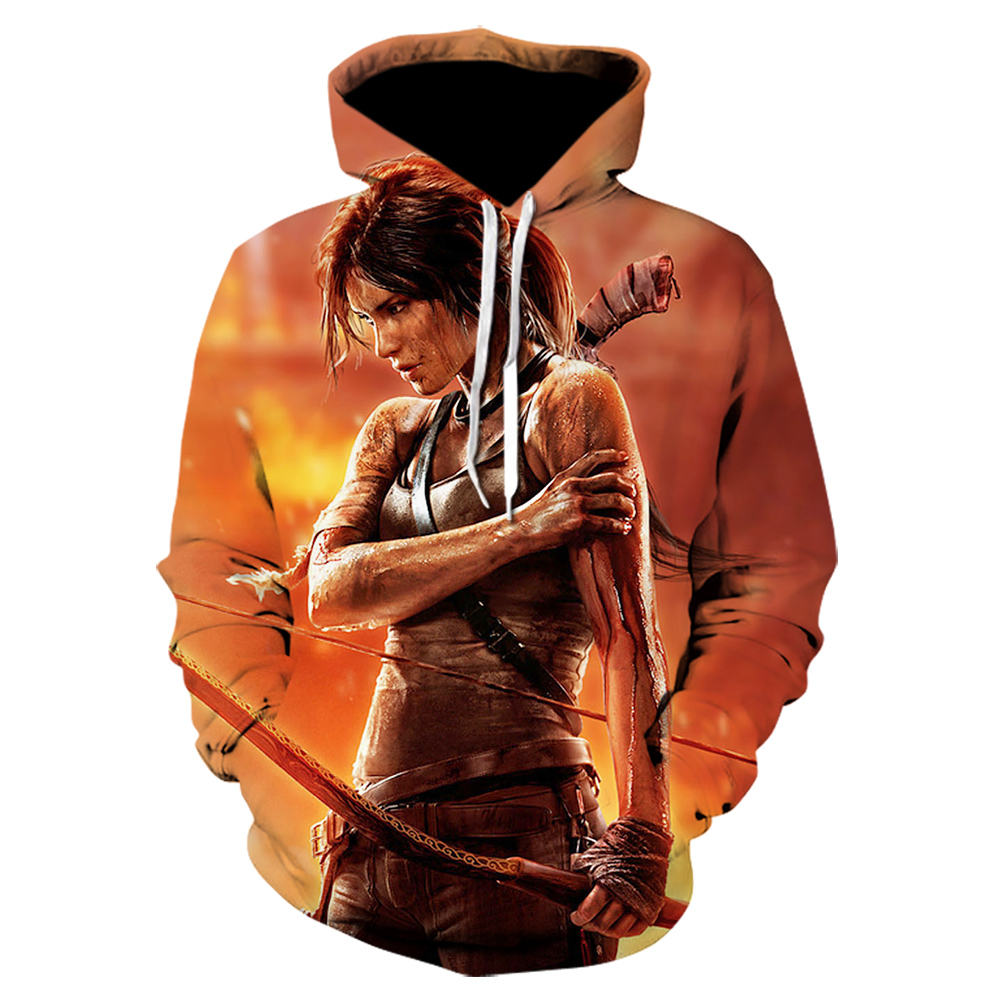 2020 Fashion Mens Womens Sweatshirt Newest Design Hoodie Game PUBG Mobile Tomb Raider/Uncharted 3d Print Casual Pullovers