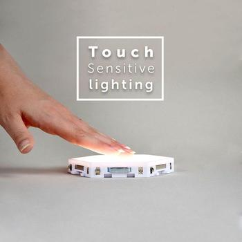 Quantum Lampe Led Nacht Licht Mond Waben Nacht Lampe Wand Lampe Leuchtet Smart Modulare Touch Sensitive Light Für Schlafzimmer