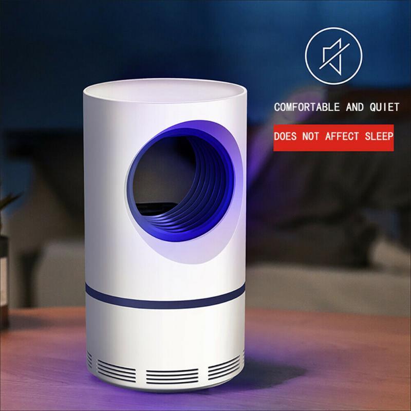 Электрическая УФ-лампа-ловушка для комаров, жуки насекомые ловушка для комаров, светодиодная лампа с управлением всасыванием, мух, насекомы...
