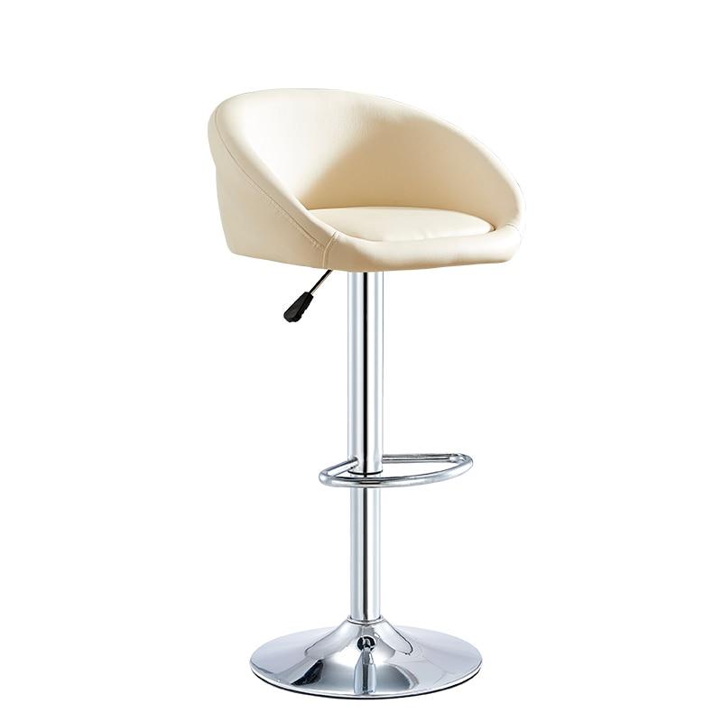 Bar Chair Modern Simple Lift Bar Chair Backrest High Chair Bar Front Desk High Stool Manicure Bar Stool Household