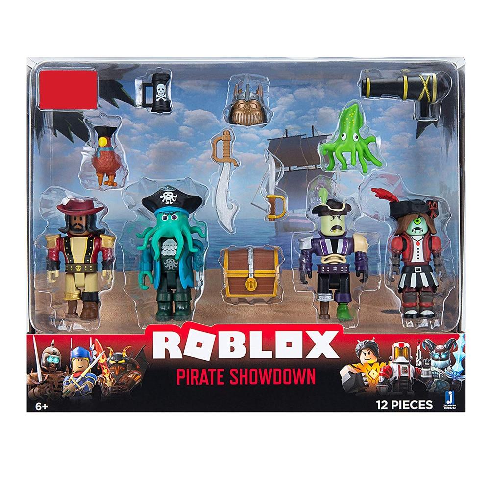 Roblox figuras de ação com caixa 7cm pvc suite bonecas brinquedos anime modelo figurinhas para decoração coleção presentes natal crianças