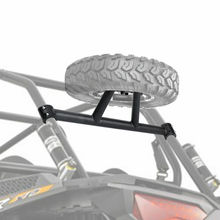 UTV Rear Spare Tire Mounting Rack Holder Frame for Polaris RZR XP 1000 XP4 2014 2015 2016 2017 2018 2019 Spare Tire Holder
