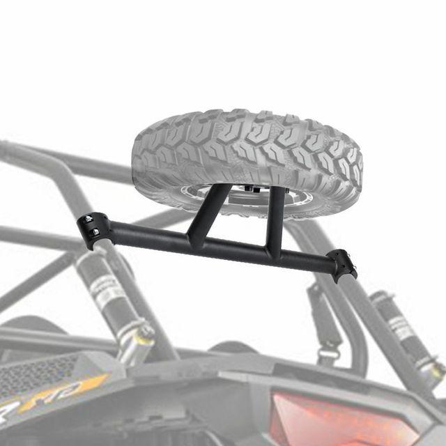 UTV Rear Spare Tire Mounting Rack Holder Frame for Polaris RZR XP 1000 XP4 2014 2015 2016 2017 2018 2019 Spare Tire Holder