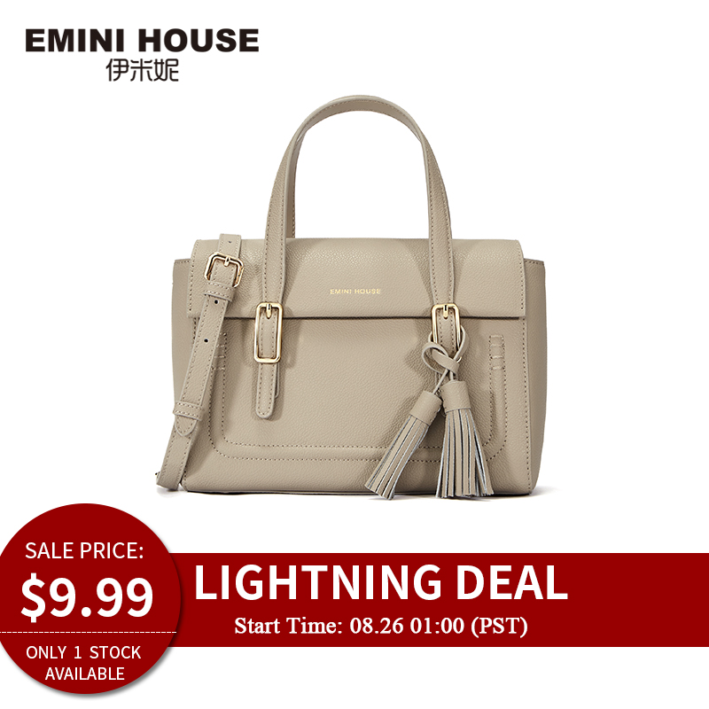 Tassel-Handbag Emini House Only Women Bag 1piece Lightning Split for 826 Lightning-deal/Only/1piece/Available