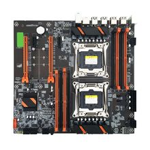 X99 Dual Server Computer Motherboard LGA2011-3 CPU DDR4 Memory Game Mainboard