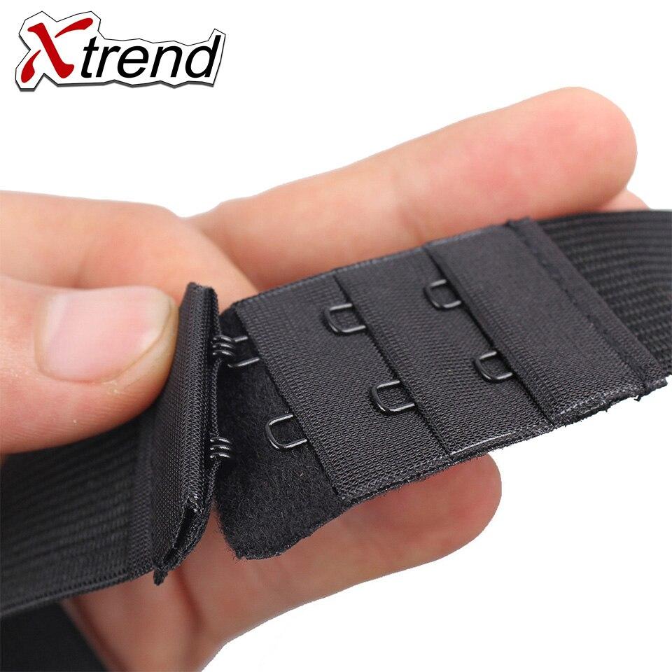 XTREND, регулируемые черные нейлоновые эластичные ленты для создания париков, шапки для париков, сетка для волос, Кружевная Сетка, швейные резиновые инструменты для изготовления париков