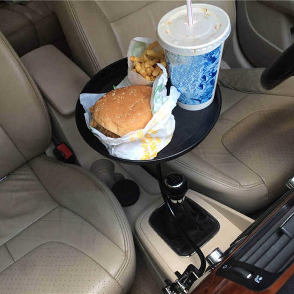 Kualitas Tinggi Berguna Mobil Auto Mount Dudukan Perjalanan Cangkir Minuman Kopi Meja Berdiri Makanan Tray