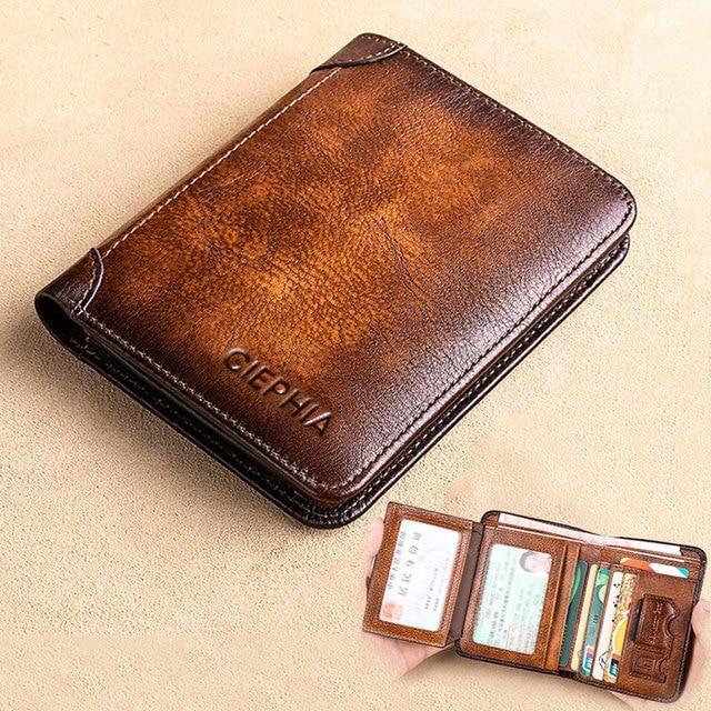 Short Multifunctional Men's Wallets