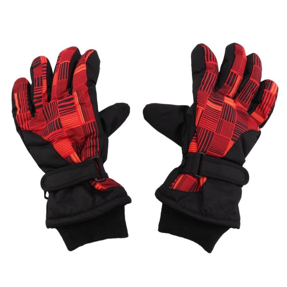 Snowmobile Motorcycle Riding Gloves Waterproof Winter Warm Gloves Unisex Ski Gloves Women Men Snowboard Mittens