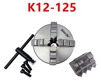 SAN OU K11 80/K11 100/K11 125 3 Jaw Lathe Chuck 80mm/100mm/125mm/ a Wrench, 3 Screws / a Positive Claw and a Reverse Claw