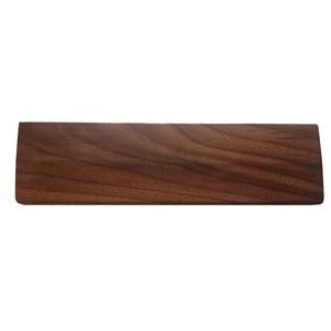 Image 2 - Repose poignet de clavier mécanique en bois de noyer avec tapis anti dérapant Support de poignet de bureau de jeu ergonomique 61 87 104 touches