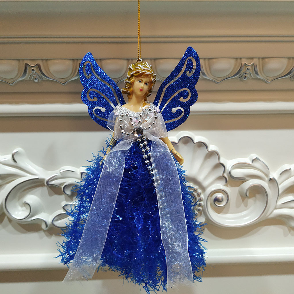 Нечеткие подвесные куклы в виде Ангела на рождественскую елку, украшения для дома, украшения на Рождество, Новый год
