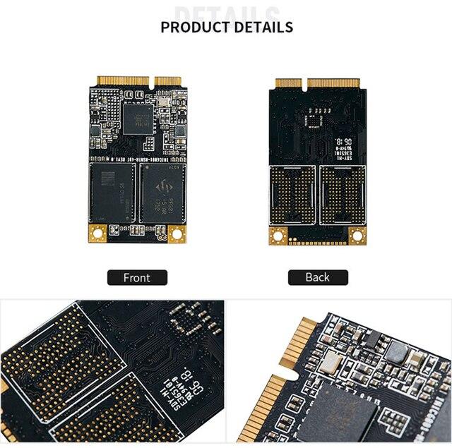 KingSpec mSATA SSD 120gb 240gb 512GB mSATA SSD 1TB 2TB HDD For computer 3x5cm Internal Solid State hard Drive for hp laptop 4