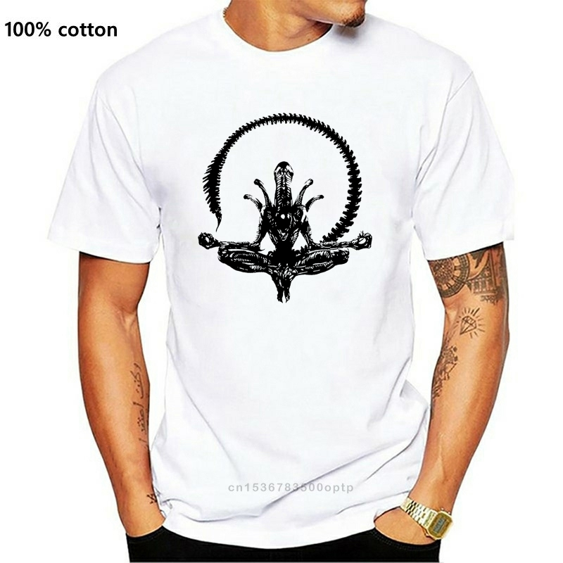 Camiseta Alien yoga, camiseta de xenomorph, inspirada en la película clásica