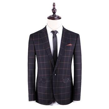 Casual garnitury męskie 2020 dwuczęściowe męskie garnitury zestawy nowe garnitury ślubne Groomsmen Multi Designs tanie i dobre opinie NOBLE BRIDE Poliester Groom wear Przycisk fly Pojedyncze piersi 110125 Men Suits