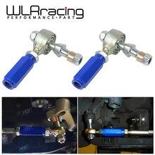 WLR RACING-2 шт./пара рулевой Наконечник поперечной рулевой тяги Arm для Nissan 240SX S14 для детей ростом 95-98 передних боковых WLR9808