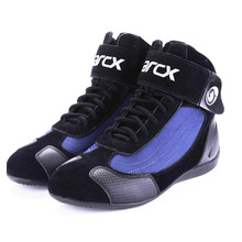Motorcycle-Boots Ankle-Shoes Chopper-Cruiser ARCX Touring Summer Men Breathable