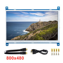 7-zoll LED Backlit 16:9HDMI 1080P HD Eingang Display Monitor Für Raspberry Pi 3B/3B/4B 170 Grad winkel(China)
