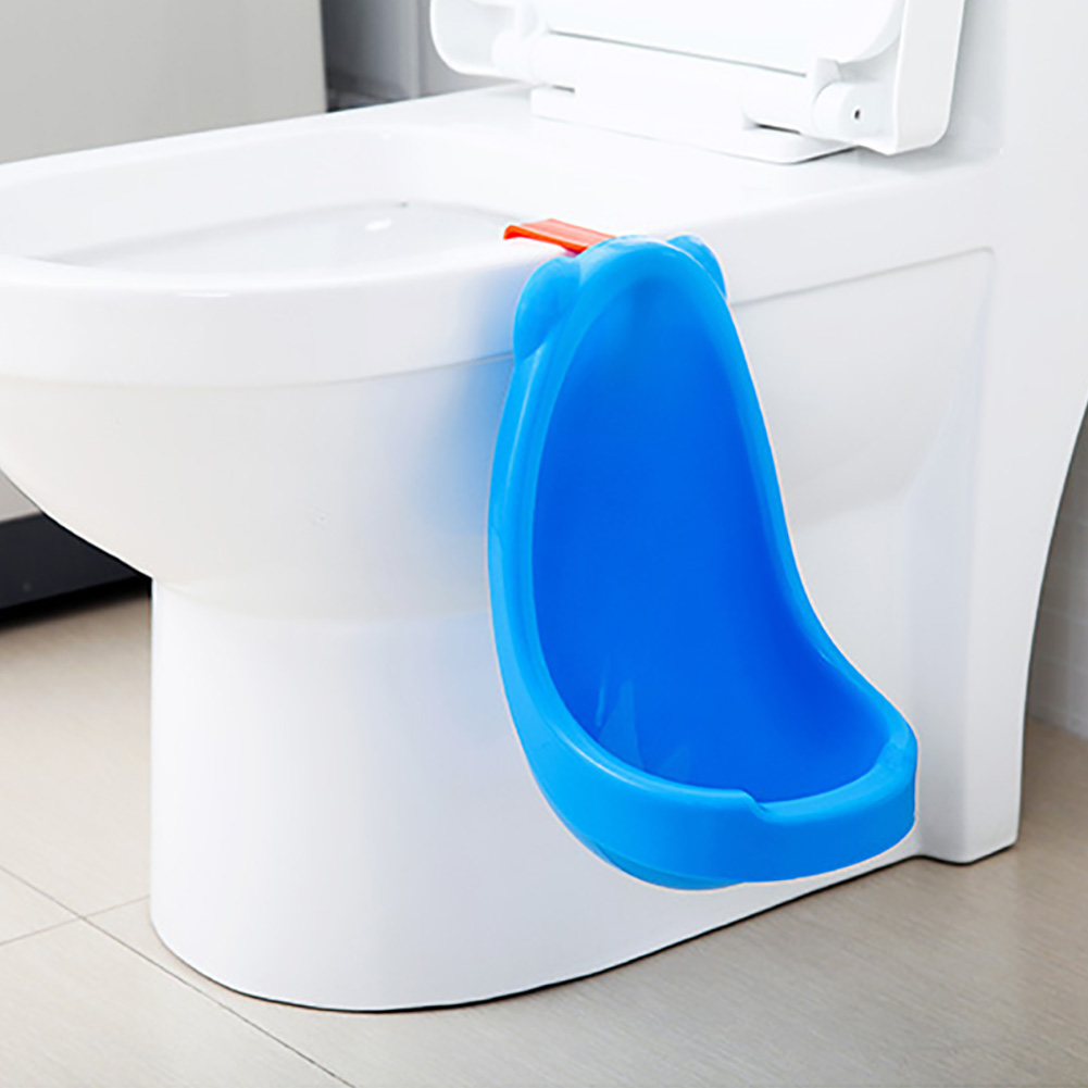 Boy PP Spill Proof Bathroom Pee Hanging Type Toilet Travel Practical Easy Clean Baby Safe Children Potty Training