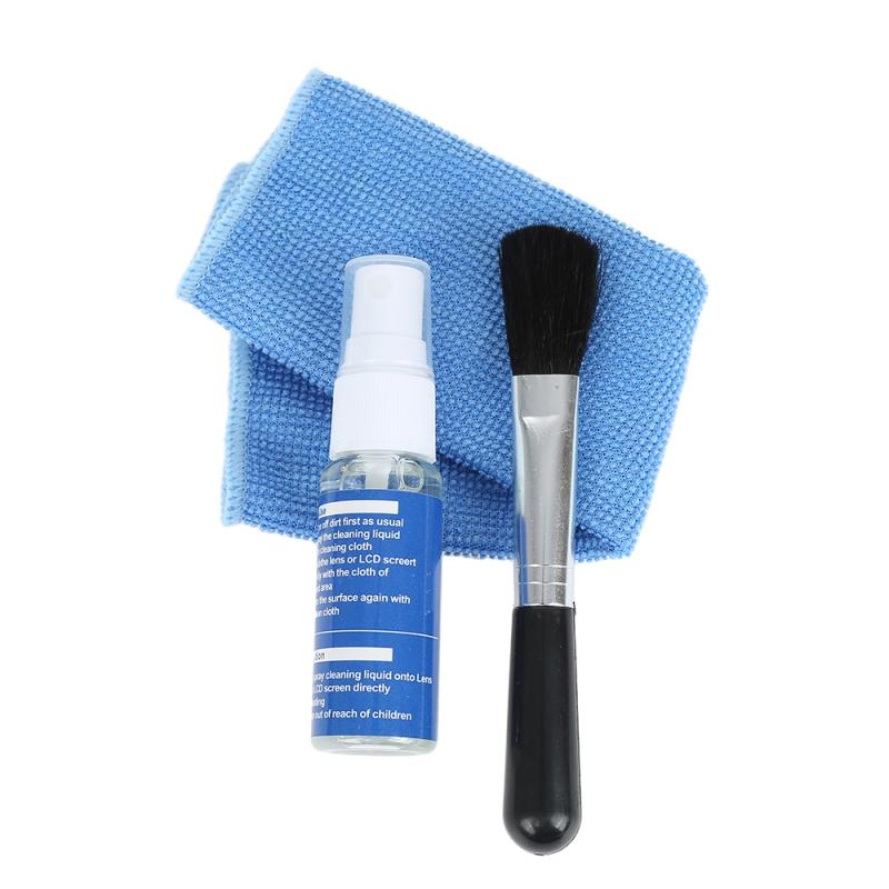 Brush Tablet Dust-Cleaner Screen-Cleaning-Kit Air-Blower-Wipes Clean-Cloth Laptop Phone