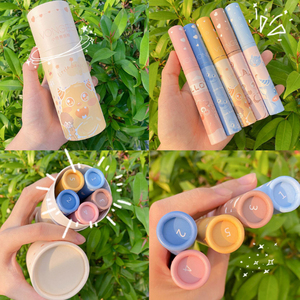 3.8g * 5/conjunto beleza lábio gloss conjunto líquido batom primer maquiagem labial base gel hidratante tonalidade lábios monstro cosméticos atacado