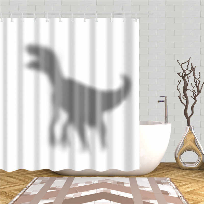Animals Cat Style Shower Curtains Polyester Fabric Waterproof 3d Printed Bath Curtain Set Bathroom Decoration Screen Washable