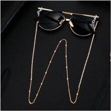 Цепочки для маскировки солнцезащитных очков для женщин, цепочки для очков с акриловыми жемчужинами и кристаллами, цепочки для очков со шнур...