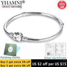 90% OFF! Fine 3mm Charm Chain Bracelet Fit Pandora Charms 92