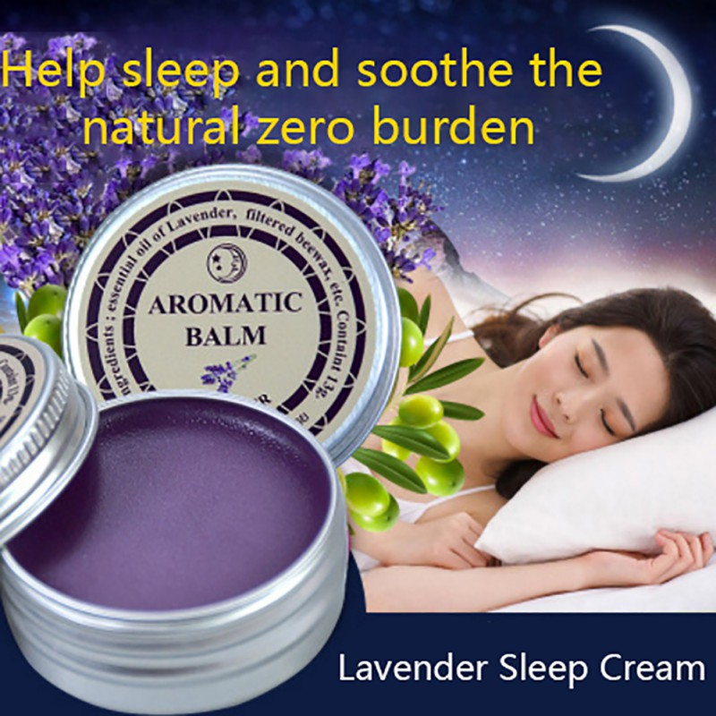 Help Sleep Soothe Lavender Aromatic Balm Insomnia Relax Aromatic Balm Fragrances & Deodorants Deodorants Products