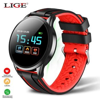2020New smart watch men women For IOS Android Heart rate blood pressure Tracker IP67 waterproof Fitness tracker Sport smartwatch