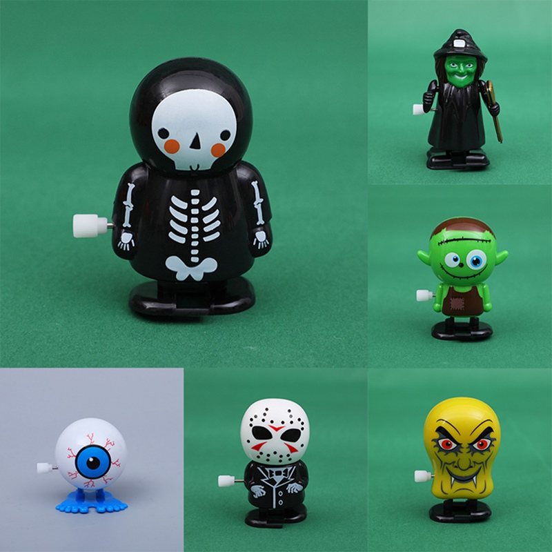 1Pcs Halloween Clockwork Toy 70mm Walking Ghost Series Quirky Halloween Toy Gift Children Love