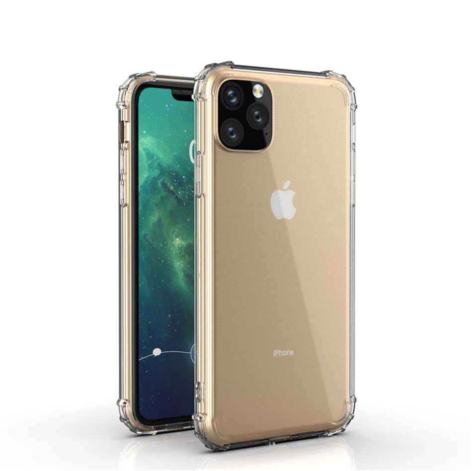 !ACCEZZ For iPhone 11 Case 2019 For iphone 11 Pro Max New Soft Cases Transparent Protection Back Cover Mobile Phone Shell Coque (8)