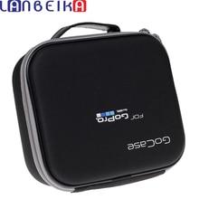 EVA נייד תיק נסיעות אחסון מגן תיק מקרה עבור GoPro גיבור 9 8 7 6 5 4 SJCAM SJ4000 SJ6 SJ8 יי MIJIA DJI אוסמו מצלמה