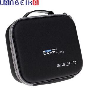 Image 1 - Eva portátil bolsa de viagem armazenamento caso saco protetor para gopro hero 9 8 7 6 5 4 sjcam sj4000 sj6 sj8 yi mijia dji osmo câmera